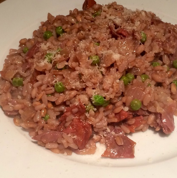 red wine risotto, red wine risotto recipe, how to make red wine ...