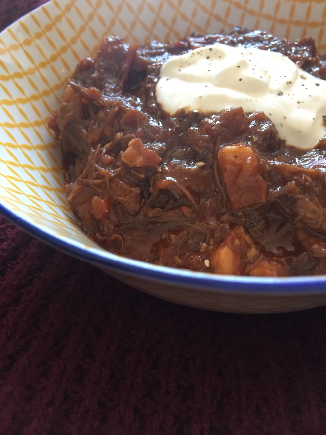 ox cheek goulash recipe, beef cheek goulash recipe, slow cooker goulash recipe, how to make goulash, food blogger