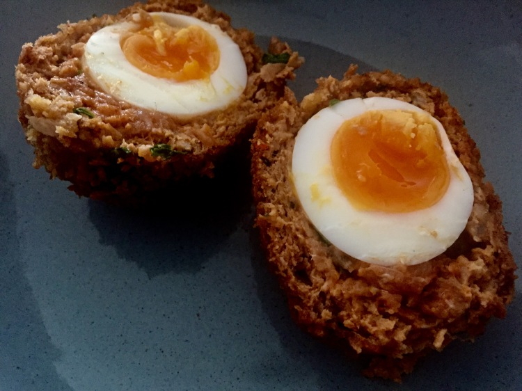 Chorizo and coriander scotch egg plates and places scotch egg recipe chorizo scotch egg recipe how to make scotch eggs homemade forumfinder