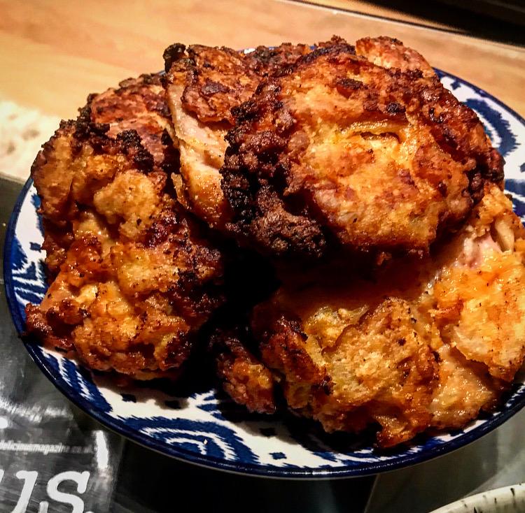 how to make kfc at home, homemead kentucky fried chicken, nashville hot chicken recipe, howlin rays chicken at home, fried chicken without a deep fat fryer