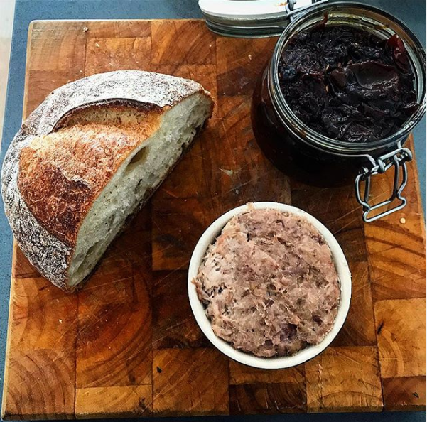 duck rillettes recipe, easy duck pate at home